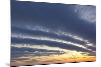 A Ship under Clouds over the Atlantic Ocean, Rye, New Hampshire-Jerry & Marcy Monkman-Mounted Photographic Print
