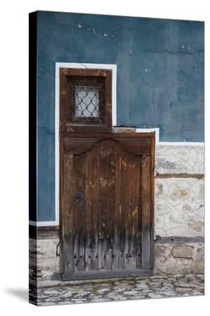 Bulgaria, Koprivshtitsa, Bulgarian National Revival-Style House-Walter Bibikow-Stretched Canvas Print