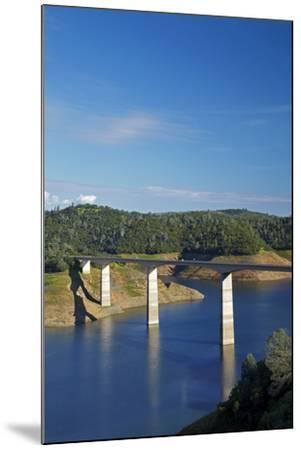 Archie Stevenot Bridge Carrys SR 49 across New Melones Dam, California-David Wall-Mounted Photographic Print