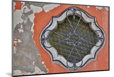 Ornate Window Design, Burano Italy-Darrell Gulin-Mounted Photographic Print