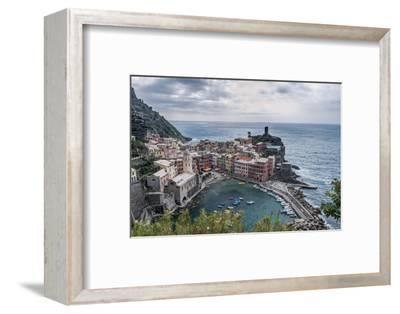 Italy, Cinque Terre, Vernazza-Rob Tilley-Framed Photographic Print
