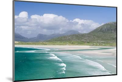 Seilebost Beach on South Harris, Sound of Transay. Scotland-Martin Zwick-Mounted Photographic Print