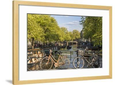 Canal, Amsterdam, Holland, Netherlands-Peter Adams-Framed Photographic Print