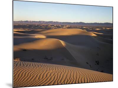 California, Imperial Sand Dunes, Patterns of Glamis Sand Dunes-Christopher Talbot Frank-Mounted Photographic Print