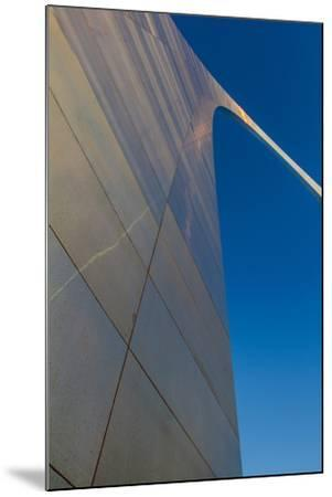 The Gateway Arch in St. Louis, Missouri at Sunrise. Jefferson Memorial-Jerry & Marcy Monkman-Mounted Photographic Print