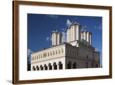 Romania, Bucharest, Romanian Patriarchal Cathedral, Exterior-Walter Bibikow-Framed Photographic Print