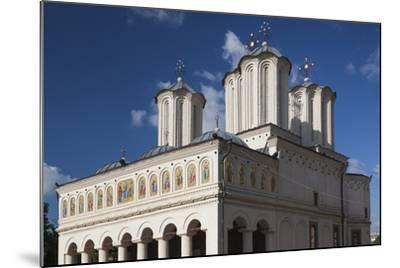 Romania, Bucharest, Romanian Patriarchal Cathedral, Exterior-Walter Bibikow-Mounted Photographic Print