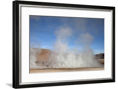 El Tatio Geyser Located in the Andes in Northern Atacama, Chile-Mallorie Ostrowitz-Framed Photographic Print