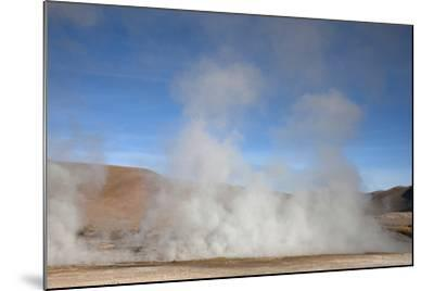 El Tatio Geyser Located in the Andes in Northern Atacama, Chile-Mallorie Ostrowitz-Mounted Photographic Print
