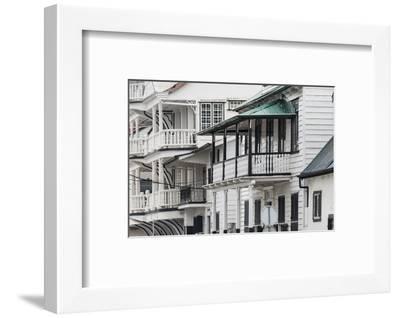 Colonial House in the Historic Center of Paramaribo (UNESCO), Suriname-Keren Su-Framed Photographic Print