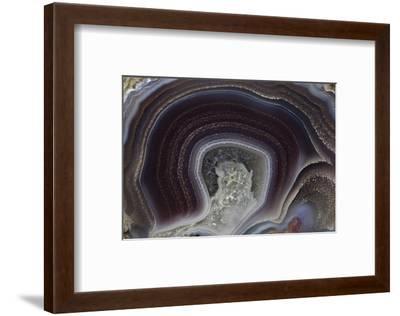 Banded Agate, Quartzsite, AZ-Darrell Gulin-Framed Photographic Print