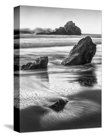 USA, California, Pfeiffer Beach-John Ford-Stretched Canvas Print
