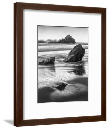 USA, California, Pfeiffer Beach-John Ford-Framed Photographic Print