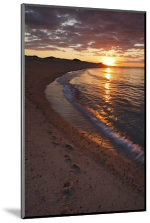 Sunset over Meadow Beach, Cape Cod National Seashore, Massachusetts-Jerry & Marcy Monkman-Mounted Photographic Print