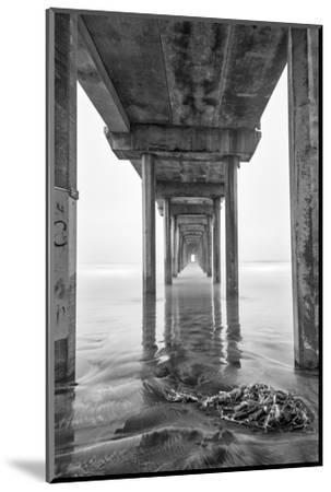 USA, California, La Jolla, Scripps Pier, Sunrise-John Ford-Mounted Photographic Print
