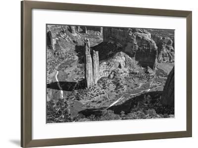 USA, Arizona, Spider Rock, Canyon de Chelly, Band-John Ford-Framed Photographic Print