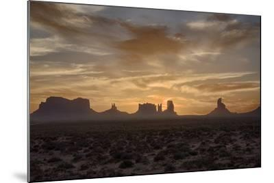 USA, Arizona, Monument Valley, First Light-John Ford-Mounted Photographic Print