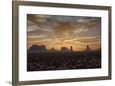 USA, Arizona, Monument Valley, First Light-John Ford-Framed Photographic Print