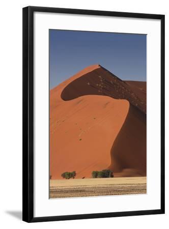 Sossusvlei, Namibia. Red Sand Dunes-Janet Muir-Framed Photographic Print