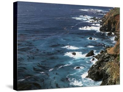 USA, California, Seascape of the Pacific Ocean-Christopher Talbot Frank-Stretched Canvas Print
