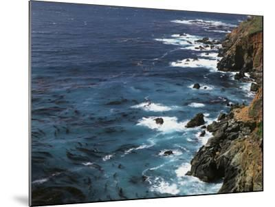 USA, California, Seascape of the Pacific Ocean-Christopher Talbot Frank-Mounted Photographic Print