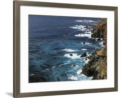 USA, California, Seascape of the Pacific Ocean-Christopher Talbot Frank-Framed Photographic Print