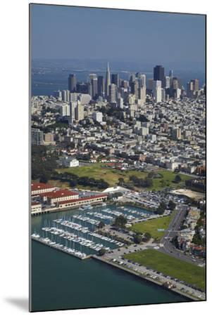 California, San Francisco, Marina and Downtown San Francisco, Aerial-David Wall-Mounted Photographic Print