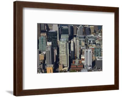 California, San Francisco, Skyscrapers around Mission Street-David Wall-Framed Photographic Print