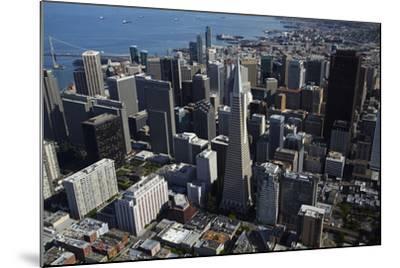 California, San Francisco, Transamerica Pyramid Skyscraper and Skyline-David Wall-Mounted Photographic Print