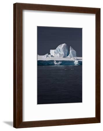 Antarctica. Iceberg-Janet Muir-Framed Photographic Print