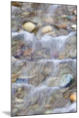 USA, Washington. Small Rocky Stream-Don Paulson-Mounted Photographic Print