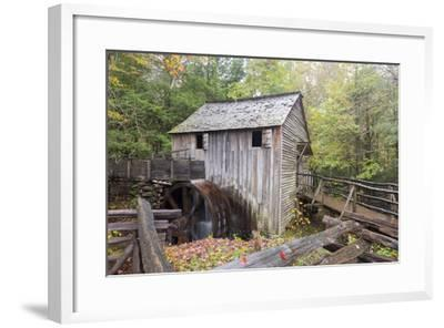 Tennessee, Great Smoky Mountains, Cades Cove, John P. Cable Grist Mill-Jamie & Judy Wild-Framed Photographic Print