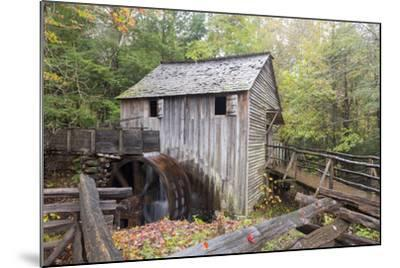 Tennessee, Great Smoky Mountains, Cades Cove, John P. Cable Grist Mill-Jamie & Judy Wild-Mounted Photographic Print