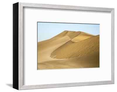 Namibia, Namib Desert. Pinwheel Pattern on Sand Dunes-Wendy Kaveney-Framed Photographic Print