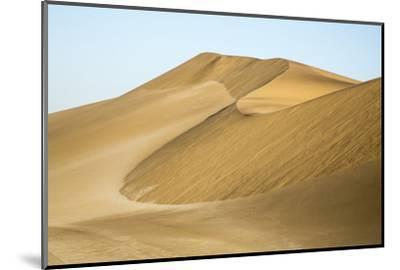 Namibia, Namib Desert. Pinwheel Pattern on Sand Dunes-Wendy Kaveney-Mounted Photographic Print