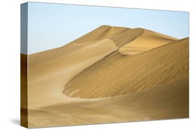 Namibia, Namib Desert. Pinwheel Pattern on Sand Dunes-Wendy Kaveney-Stretched Canvas Print
