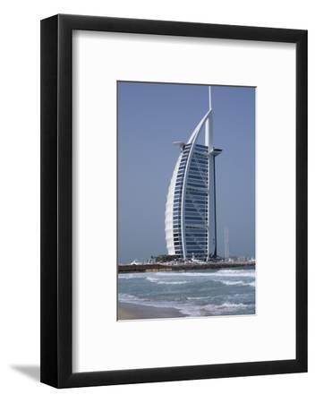 Uae, Dubai. Jumeirah District, Burj Al Arab Hotel-Cindy Miller Hopkins-Framed Photographic Print