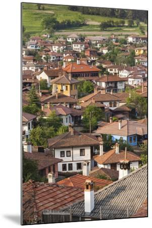Bulgaria, Central Mountains, Koprivshtitsa, Elevated Village View-Walter Bibikow-Mounted Photographic Print