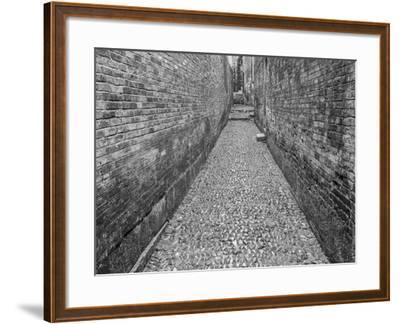 China, Ming Village Street-John Ford-Framed Photographic Print