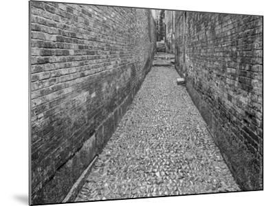 China, Ming Village Street-John Ford-Mounted Photographic Print