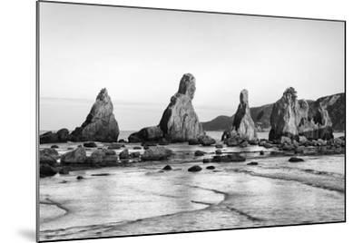 Asia, Japan, Kushimoto. View of Hashigui-Iwa Rocks on Ocean Shore-Dennis Flaherty-Mounted Photographic Print