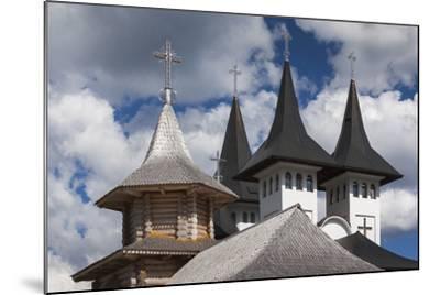 Romania, Maramures Region, Rodna Mountains NP, Orthodox Monastery-Walter Bibikow-Mounted Photographic Print