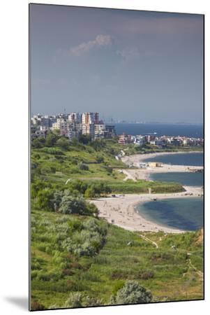 Romania, Black Sea Coast, Constanta, Modern Beach, Beachfront Building-Walter Bibikow-Mounted Photographic Print
