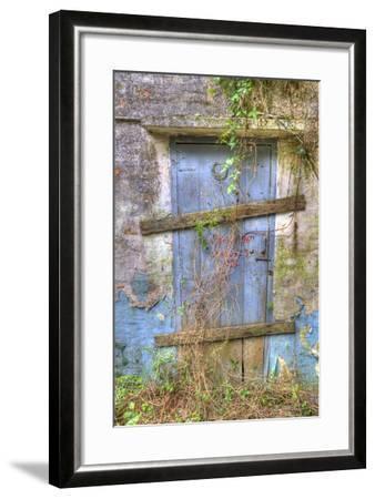 China, Hong Kong, Lantau Island, Abandoned Building Near Big Buddha-Terry Eggers-Framed Photographic Print