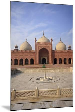 View of Badshahi Masjid, One of the Biggest Mosques in the World-Yasir Nisar-Mounted Photographic Print