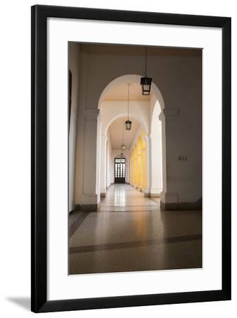 Caribbean, Cuba, Trinidad. Convento de San Francisco de Asi-Emily Wilson-Framed Photographic Print