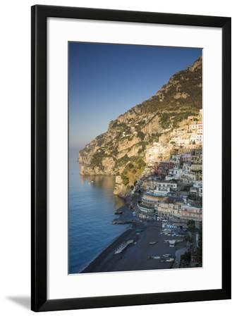 Morning on the Mountains Above Positano, Amalfi Coast, Campania, Italy-Brian Jannsen-Framed Photographic Print