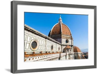The Dome of the Duomo Santa Maria del Fiore, Florence, Tuscany, Italy-Nico Tondini-Framed Photographic Print