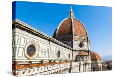 The Dome of the Duomo Santa Maria del Fiore, Florence, Tuscany, Italy-Nico Tondini-Stretched Canvas Print