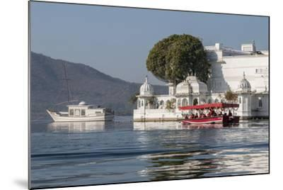 Palace Hotel. Jag Niwas. Lake Pichola. Udaipur Rajasthan. India-Tom Norring-Mounted Photographic Print